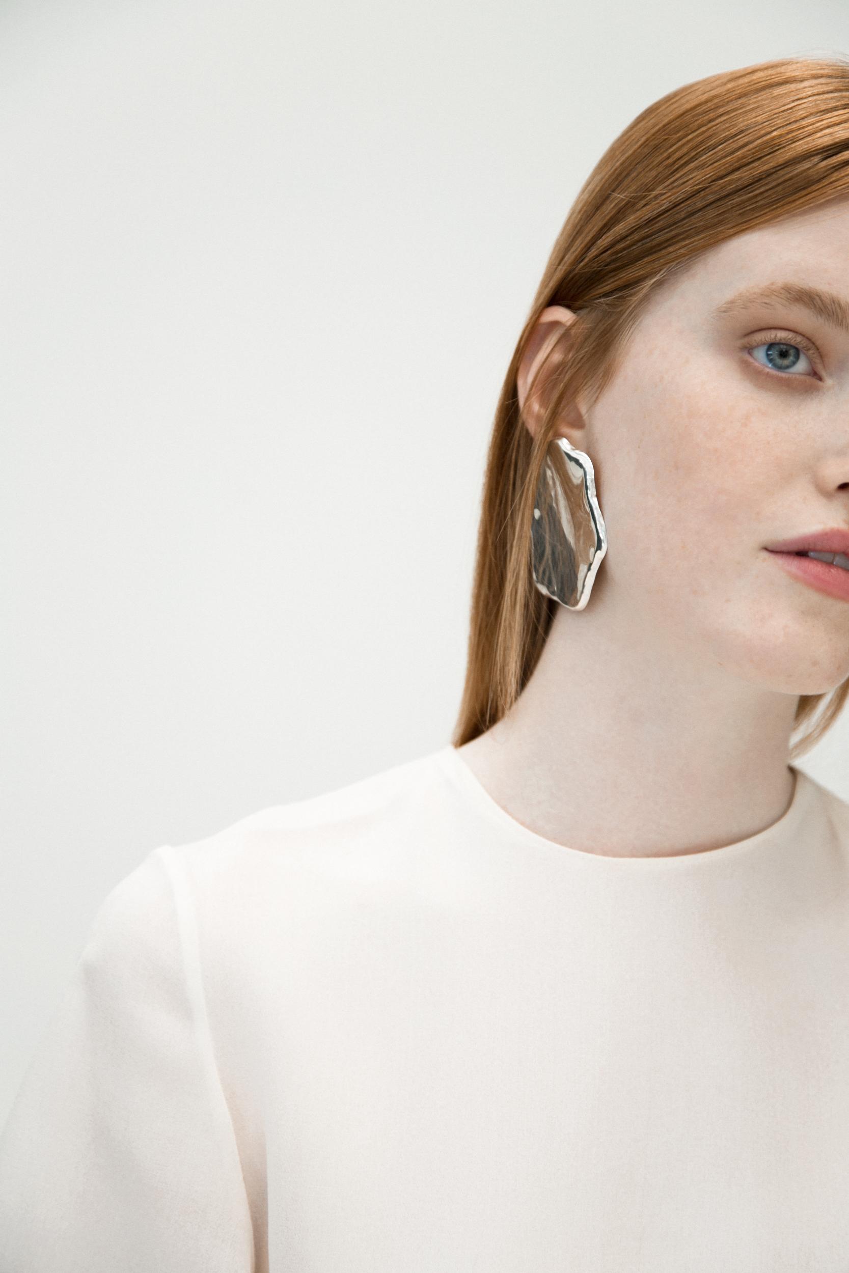 MY812 dress / All Blues earrings