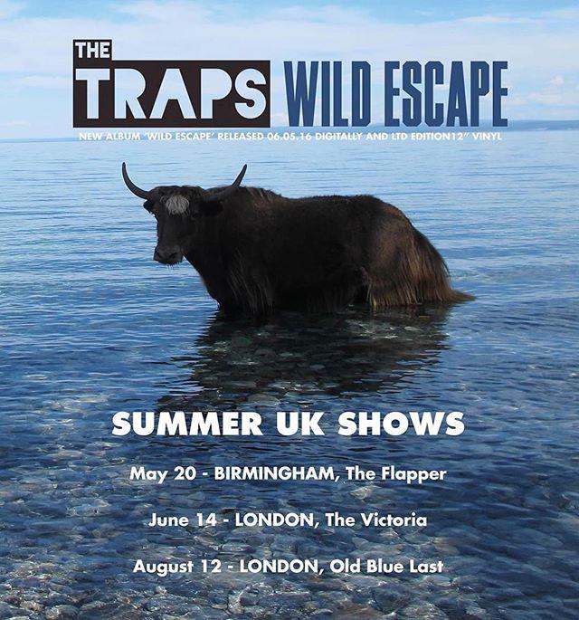 New Summer Shows just announced.. #wildescape #uktour #london #birmingham #ukmusic