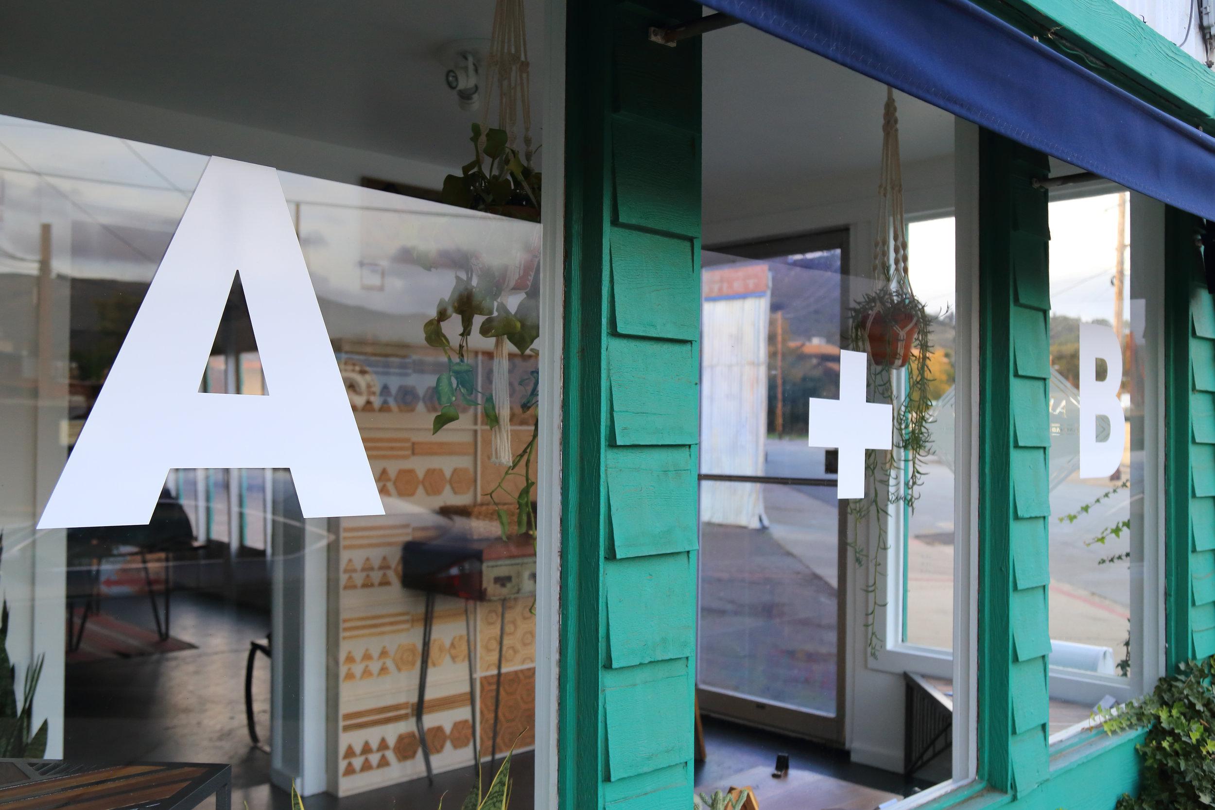 A peek into the A + B showroom