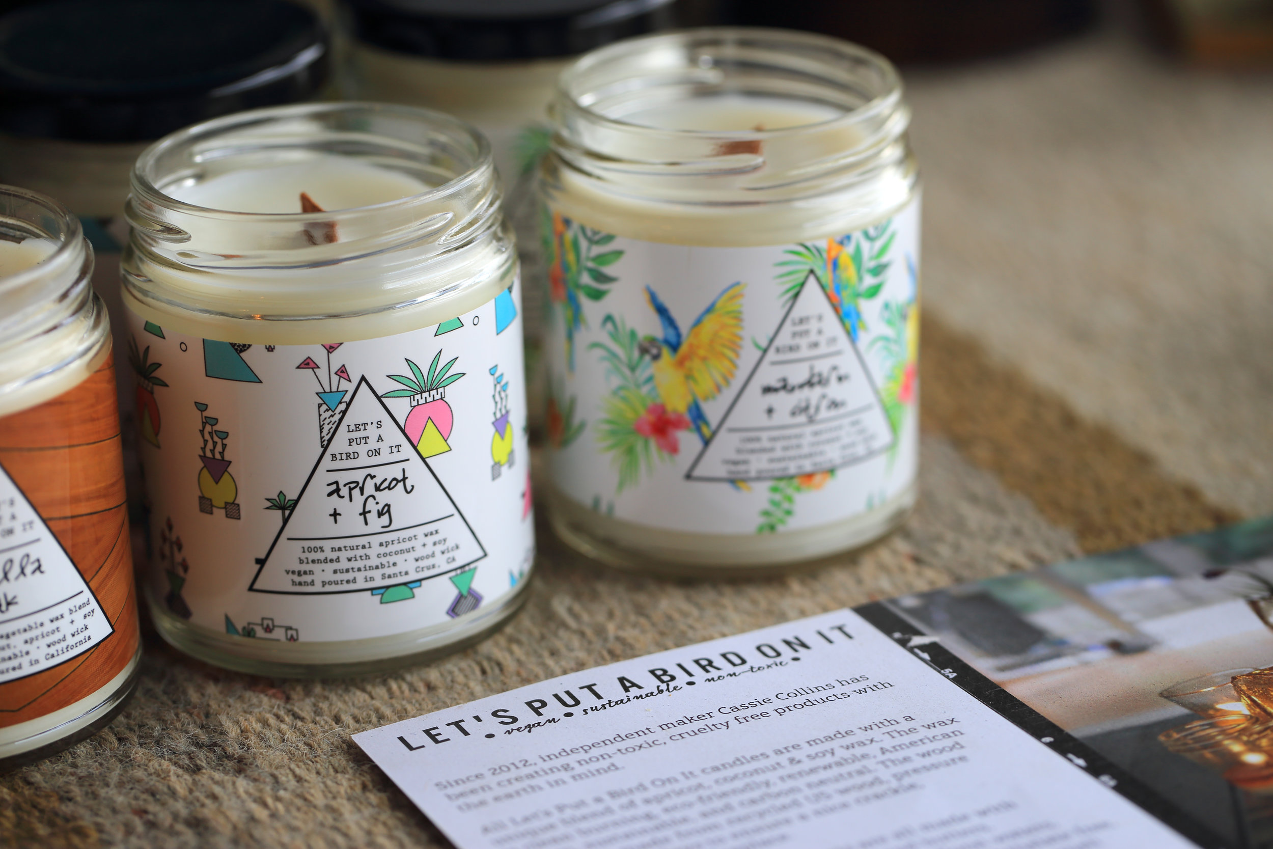 California-made candles