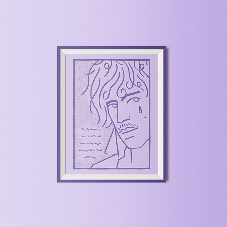 Guy Field: Purple