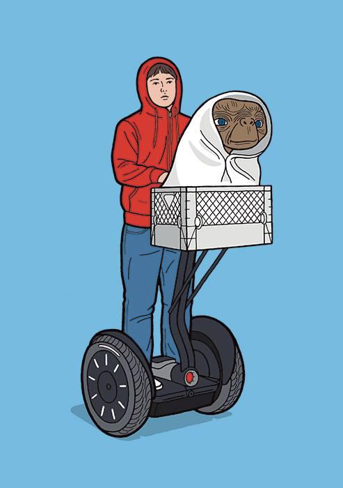 E.T. phone home... on a segway