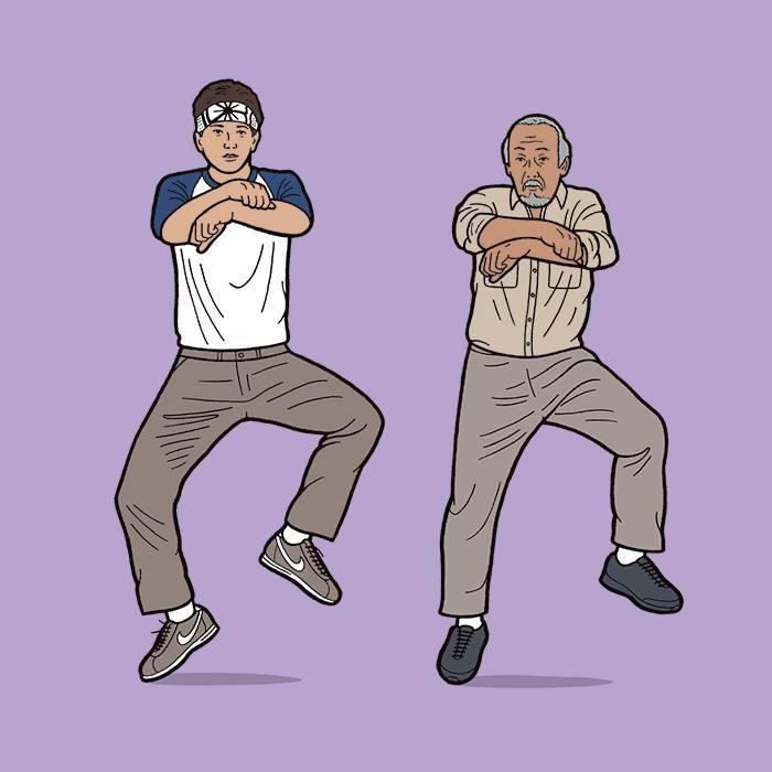 Wax on! Dance off!