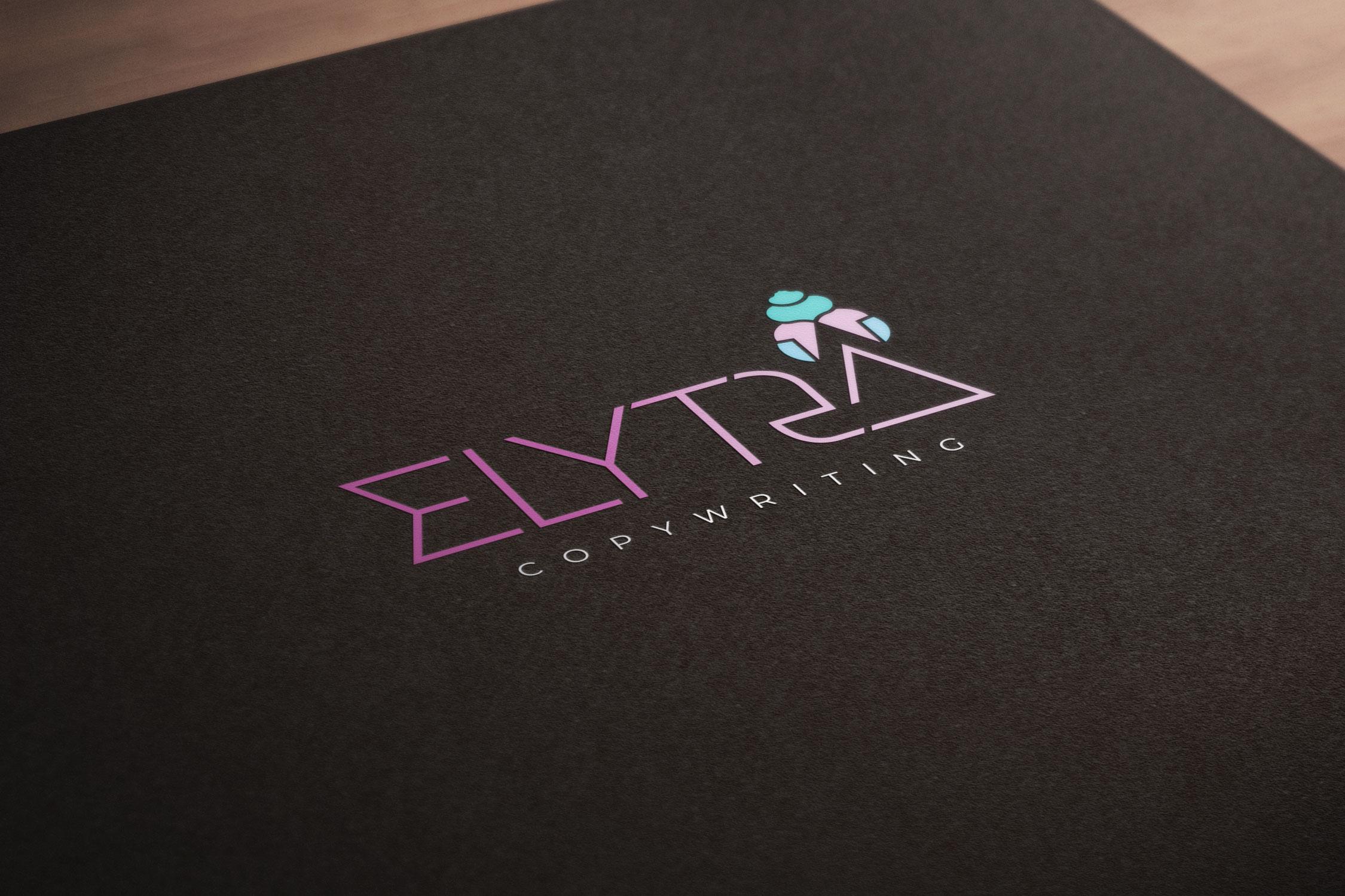 ELYTRA COPYWRITING  A new brand for a Nottingham-based copywriter
