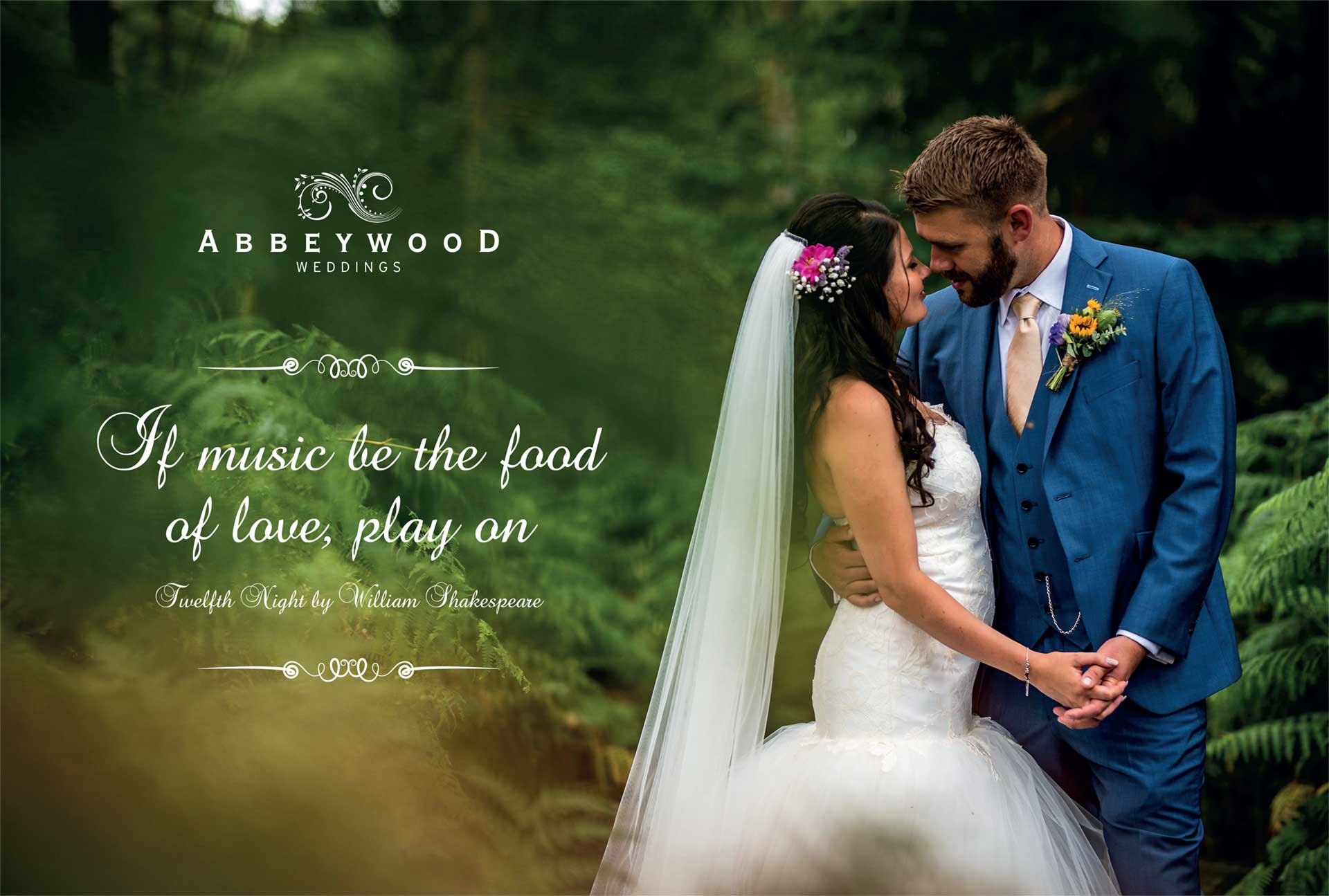 ABBEYWOOD ESTATE  Brochure, website and marketing strategy for a leading Cheshire wedding venue