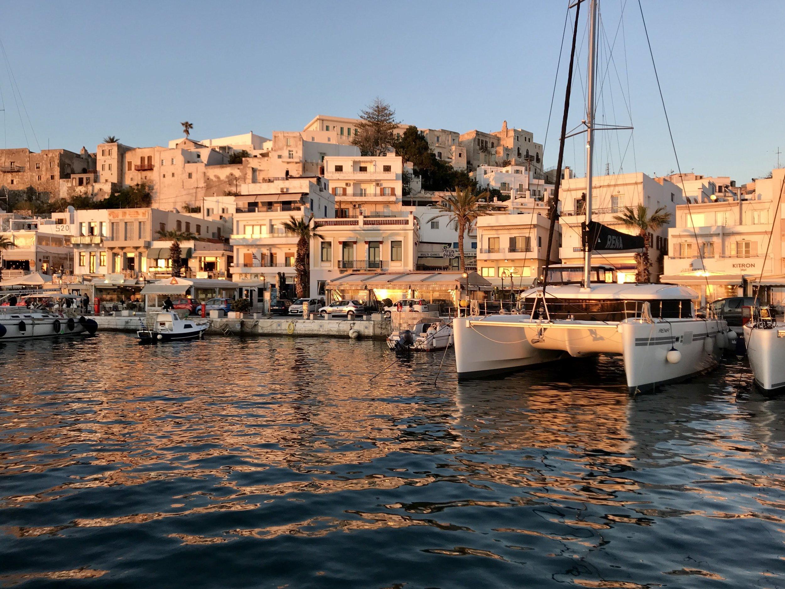 Golden Hour in Greece. No filter needed.