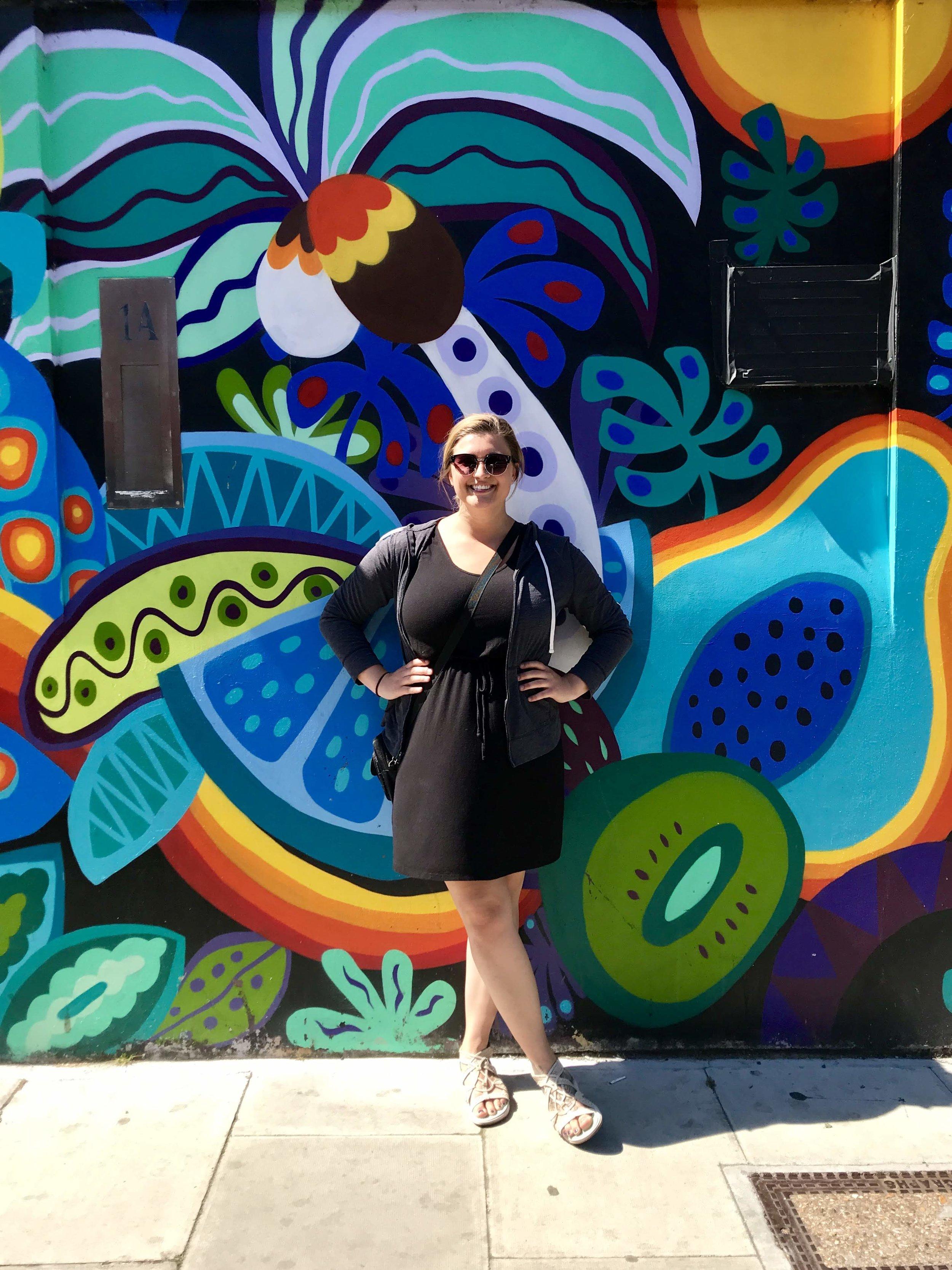 Posing at Camden Market