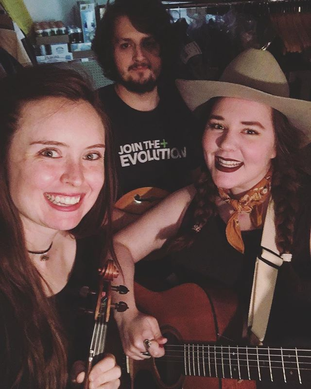 Played with my dearest pals today at @theboweryvault 🤠💃🏻