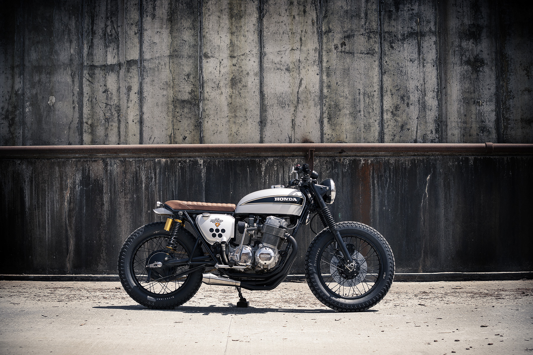 1975 CB750 — Redeemed Cycles
