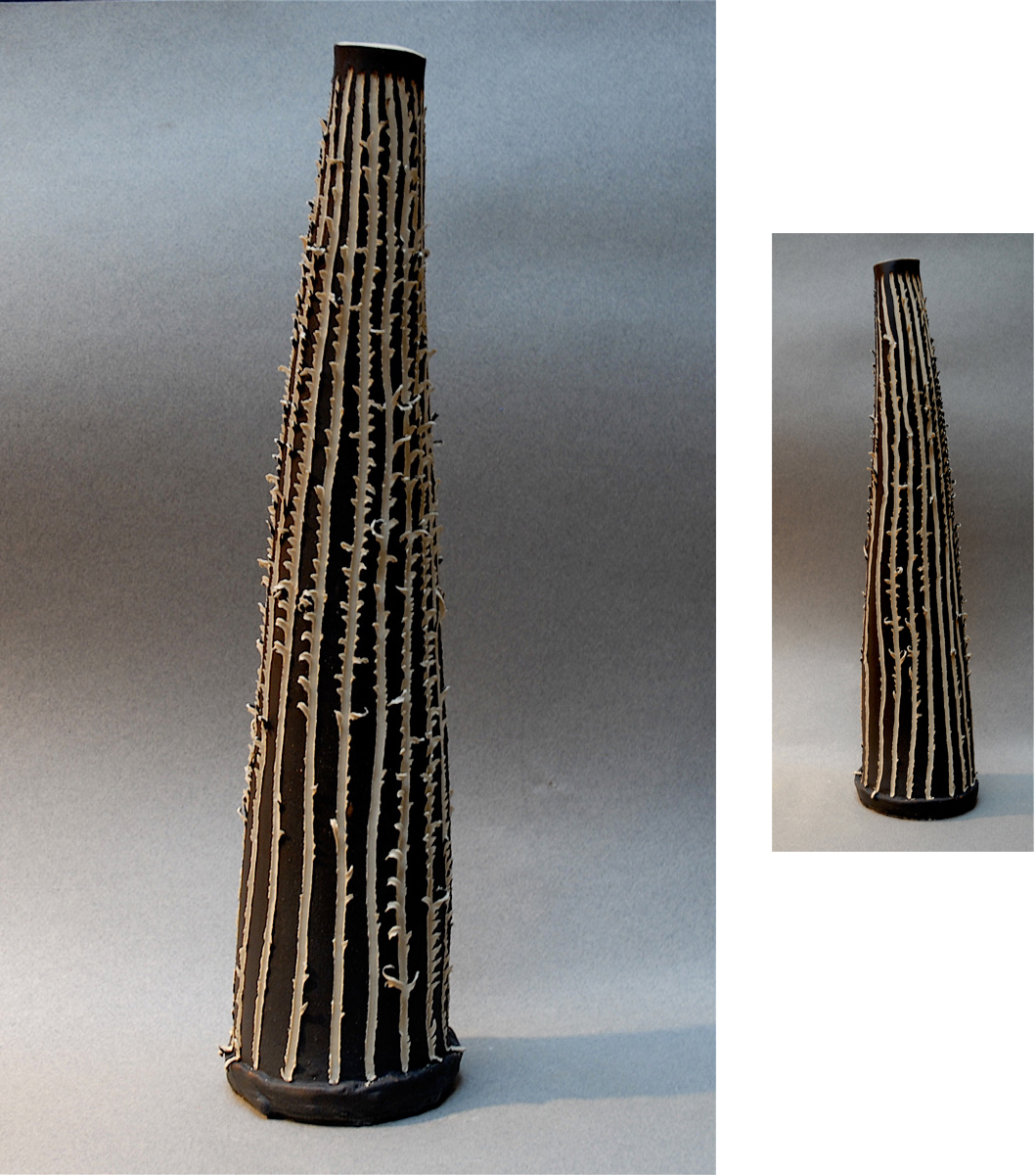 INCISED JAGGED VESSEL | 15 inches SOLD