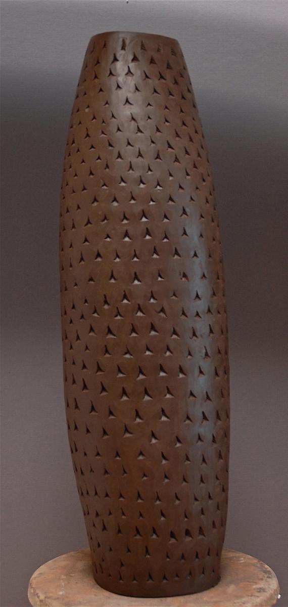 GREENWARE CUNIFORM VESSEL | 14 inches