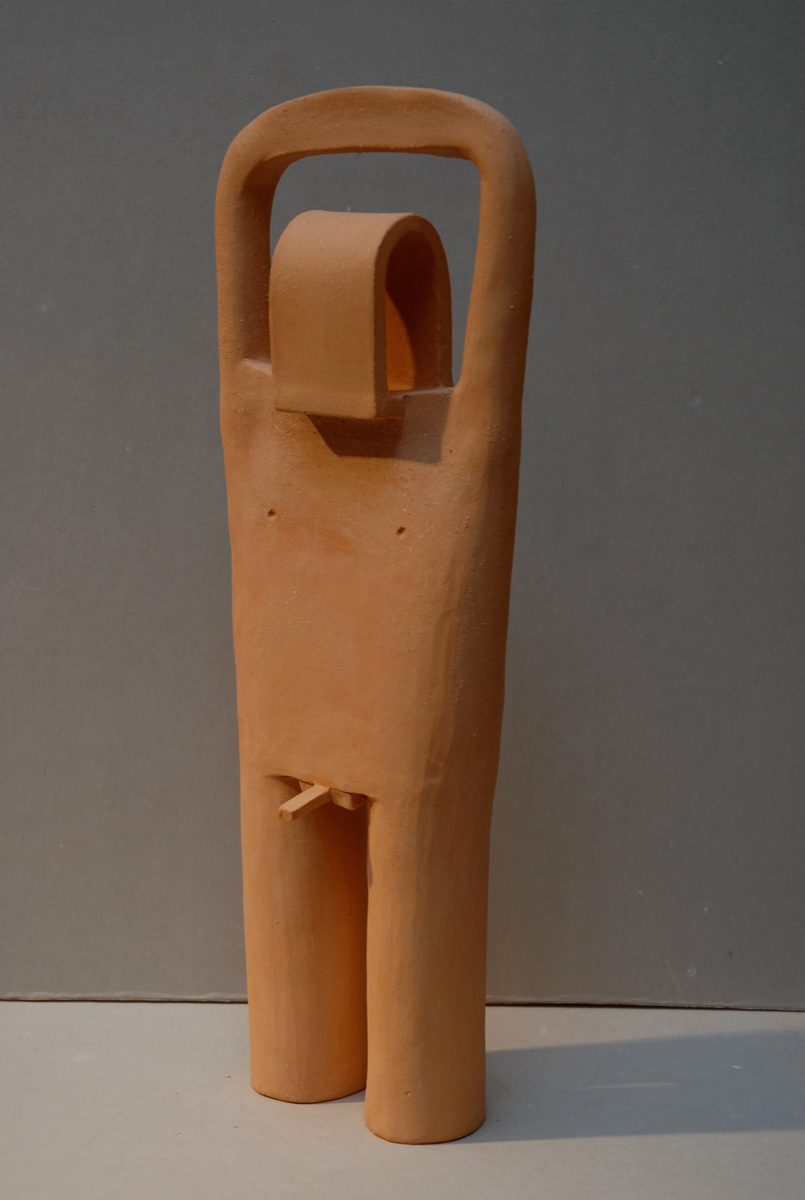 MALE EFFIGY FIGURE