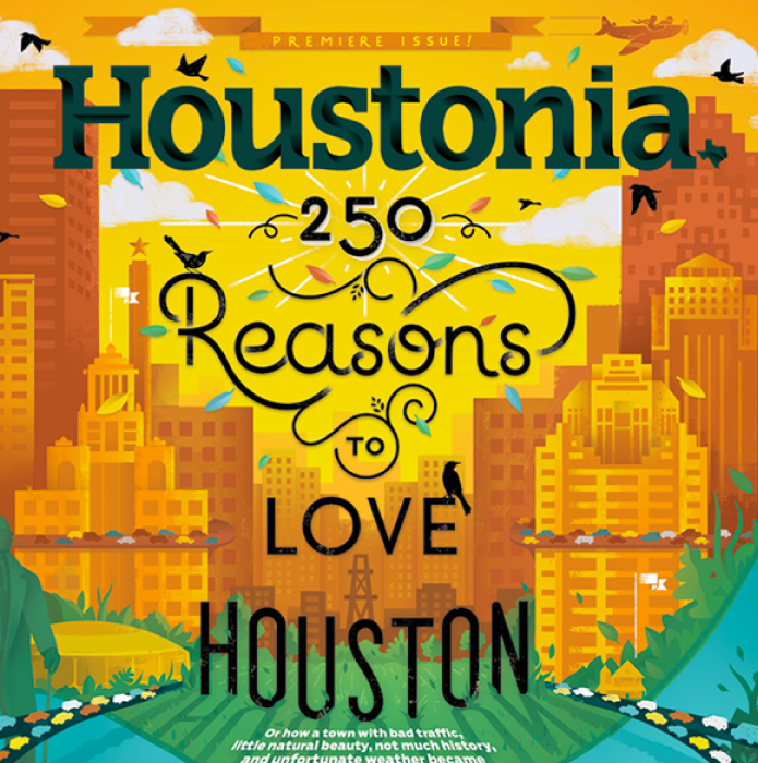 HOUSTONIA MAGAZINE - FEB. EDITION 2017