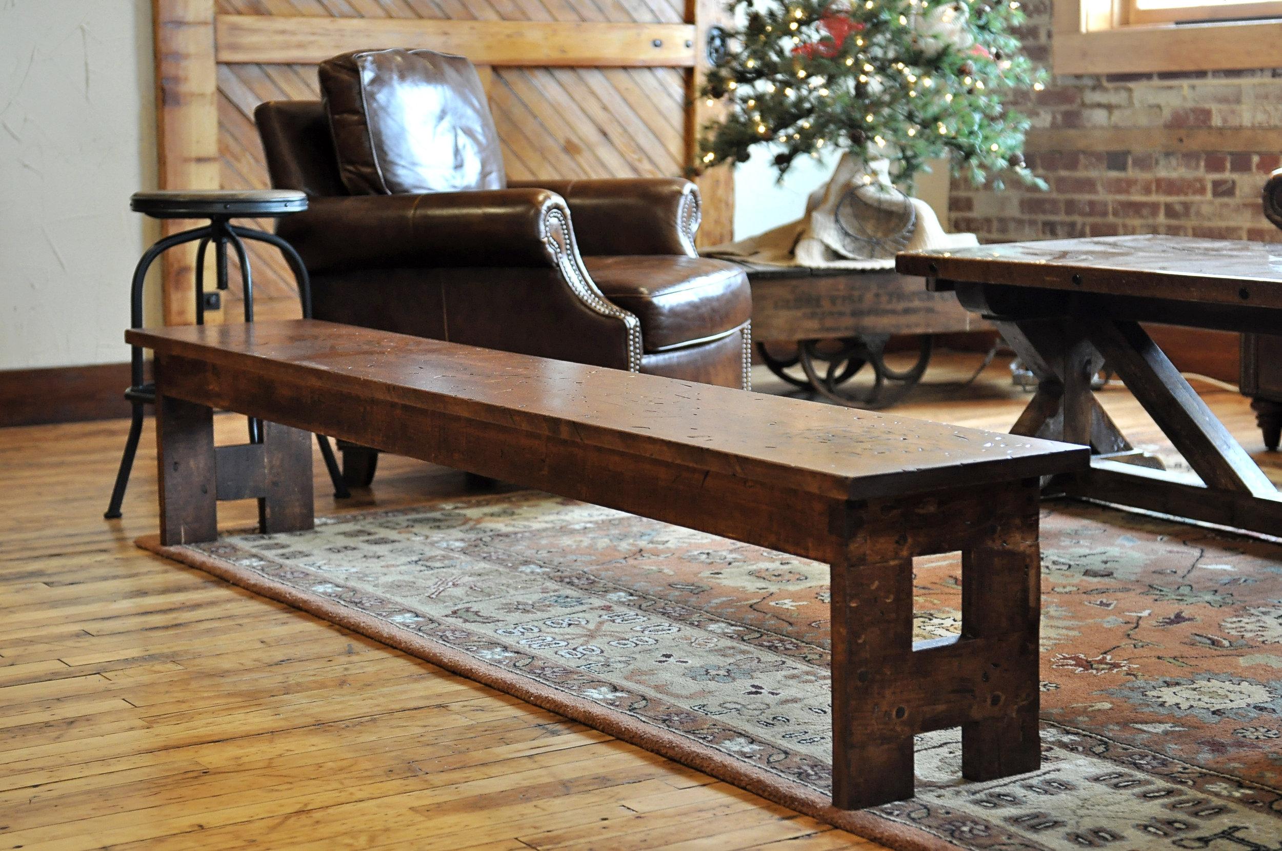 bespoke furniture, custom handmade bench