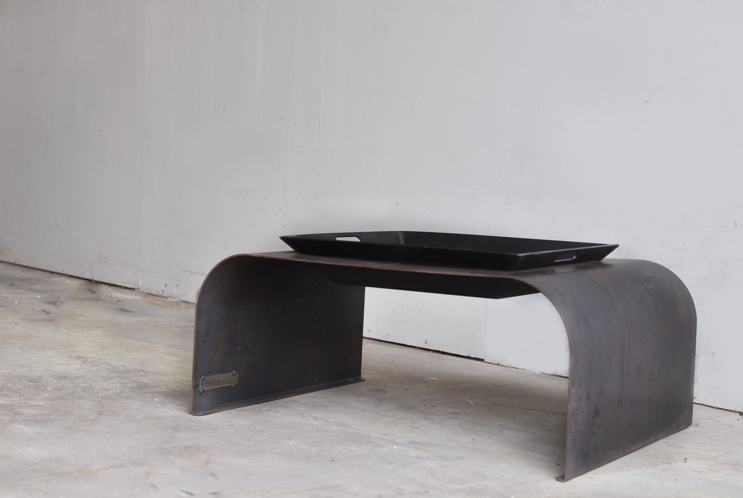 bespoke furniture, minimalist fire pit