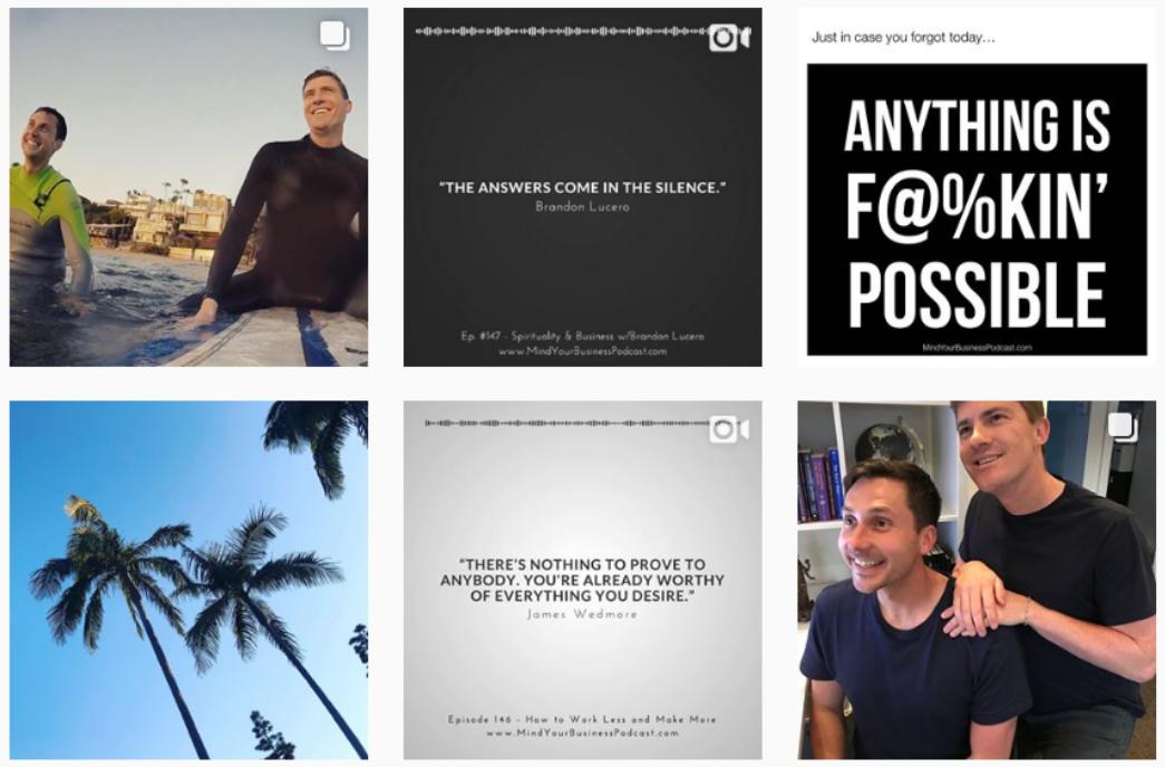 James Wedmore Instagram