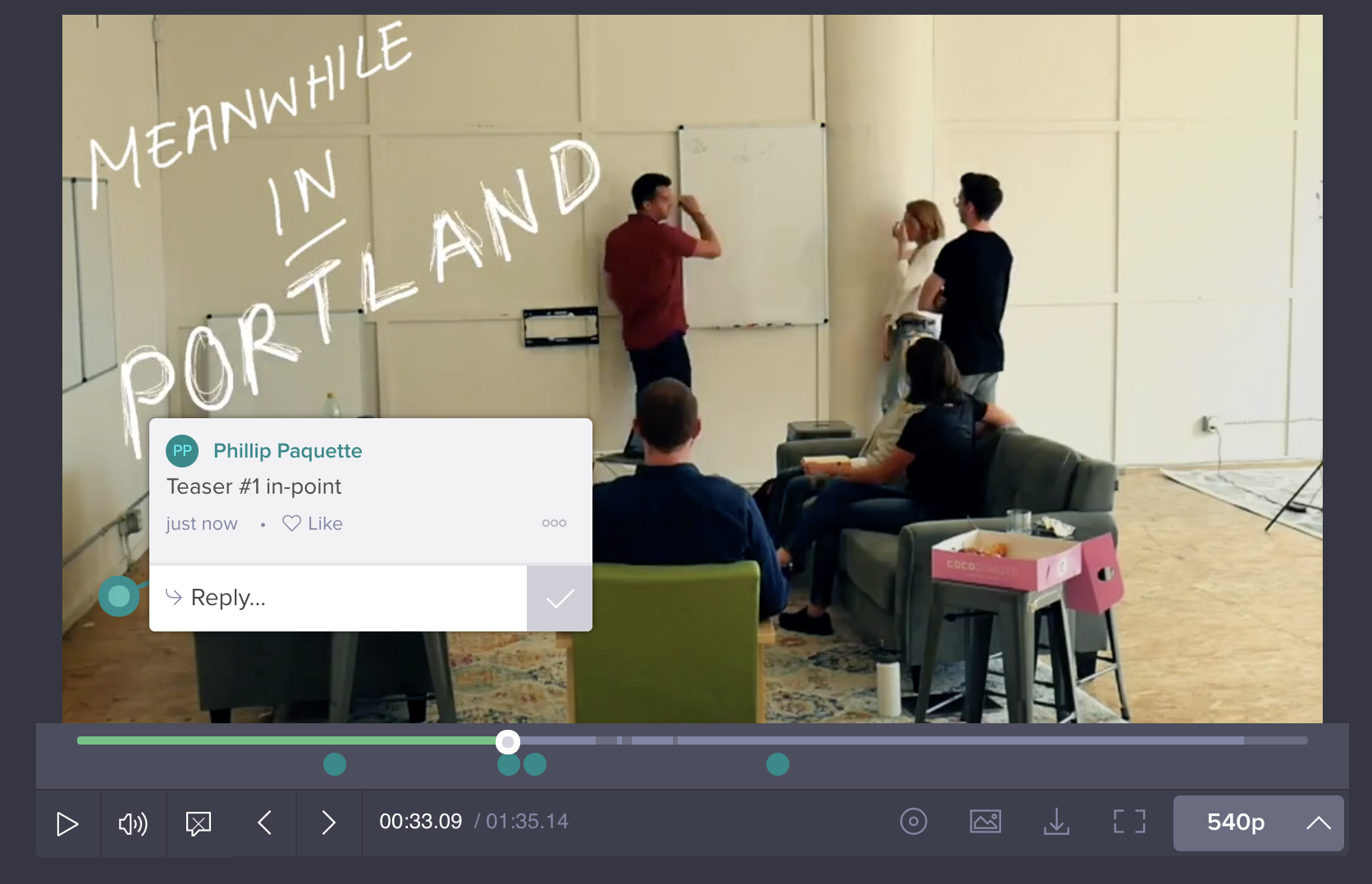 wipster portland video feedback team how to
