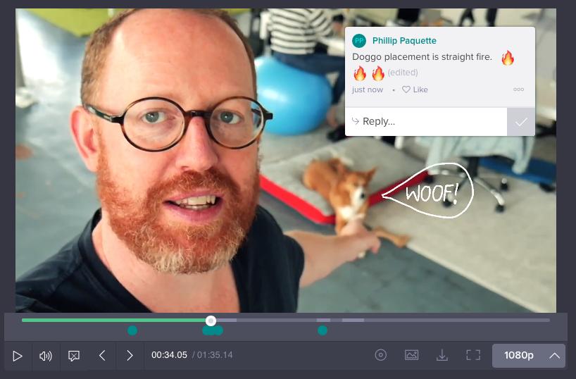 rollo wenlock wipster feedback video workflow
