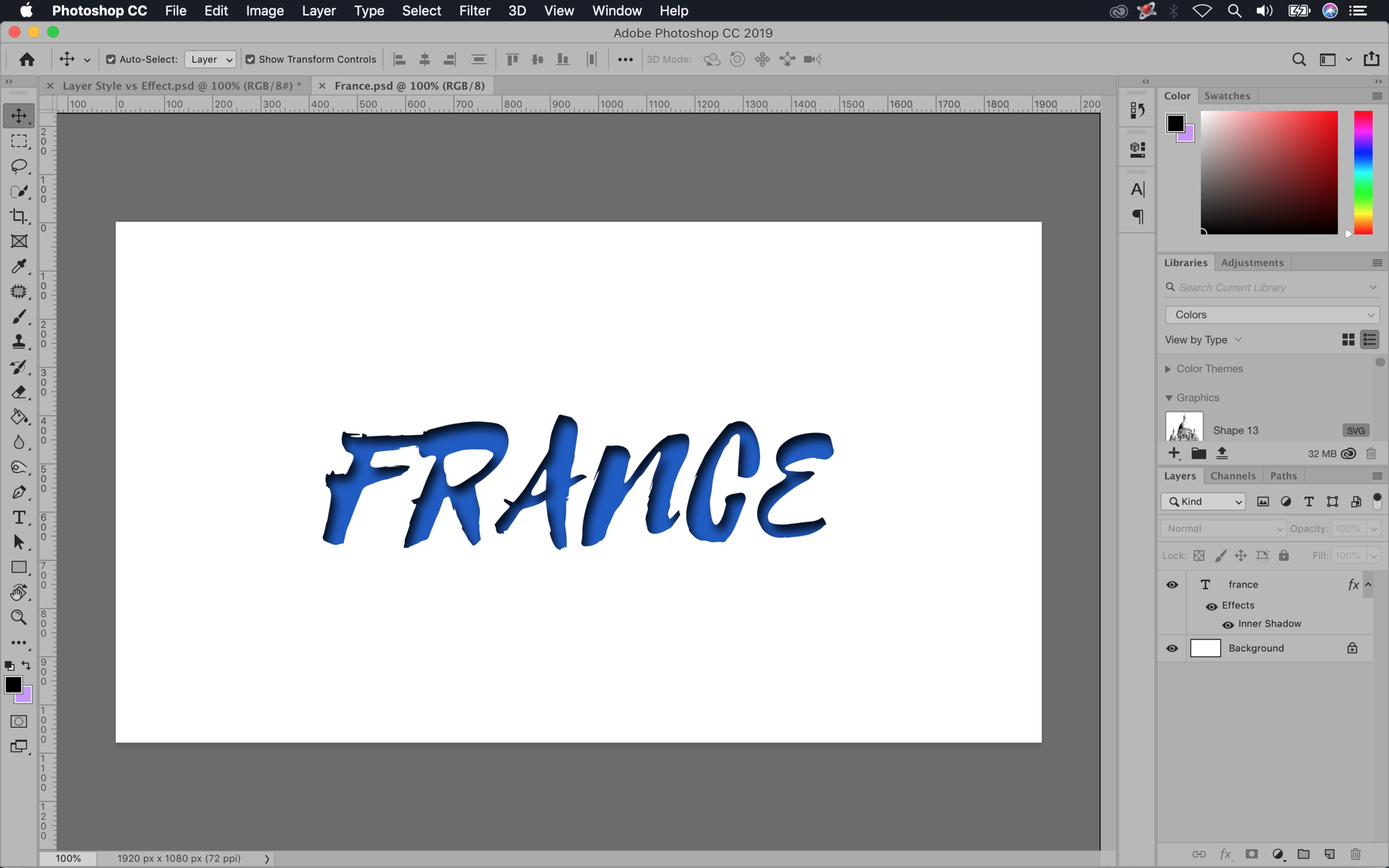 Layer Styles - France PSD File.png