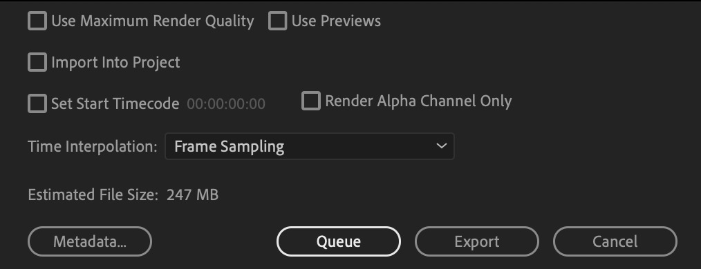 Max Render Quality adobe premiere pro wipster