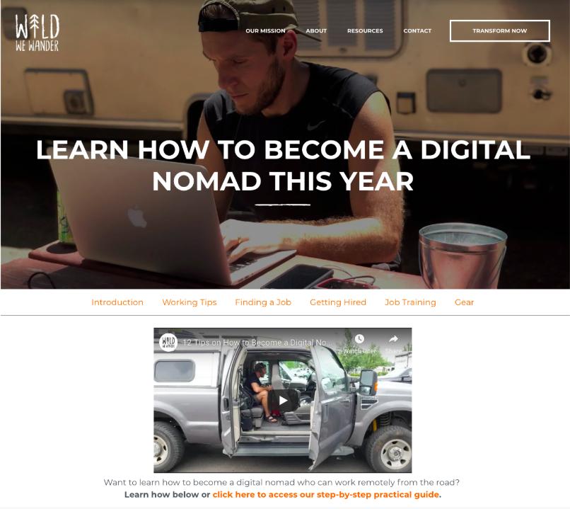 digital nomad hubspot wipster