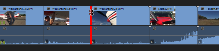 Roll edit has a red line