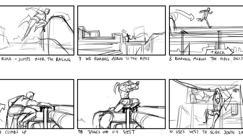 Storyboard Artist, Gabriel Schucan