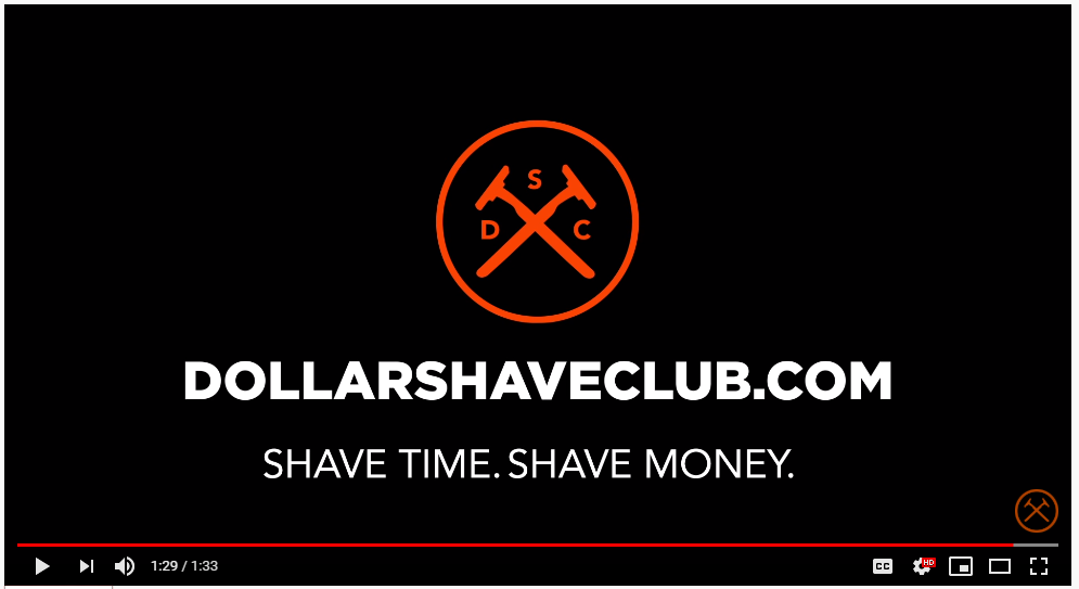 Prinscreen of Dollarshaveclub