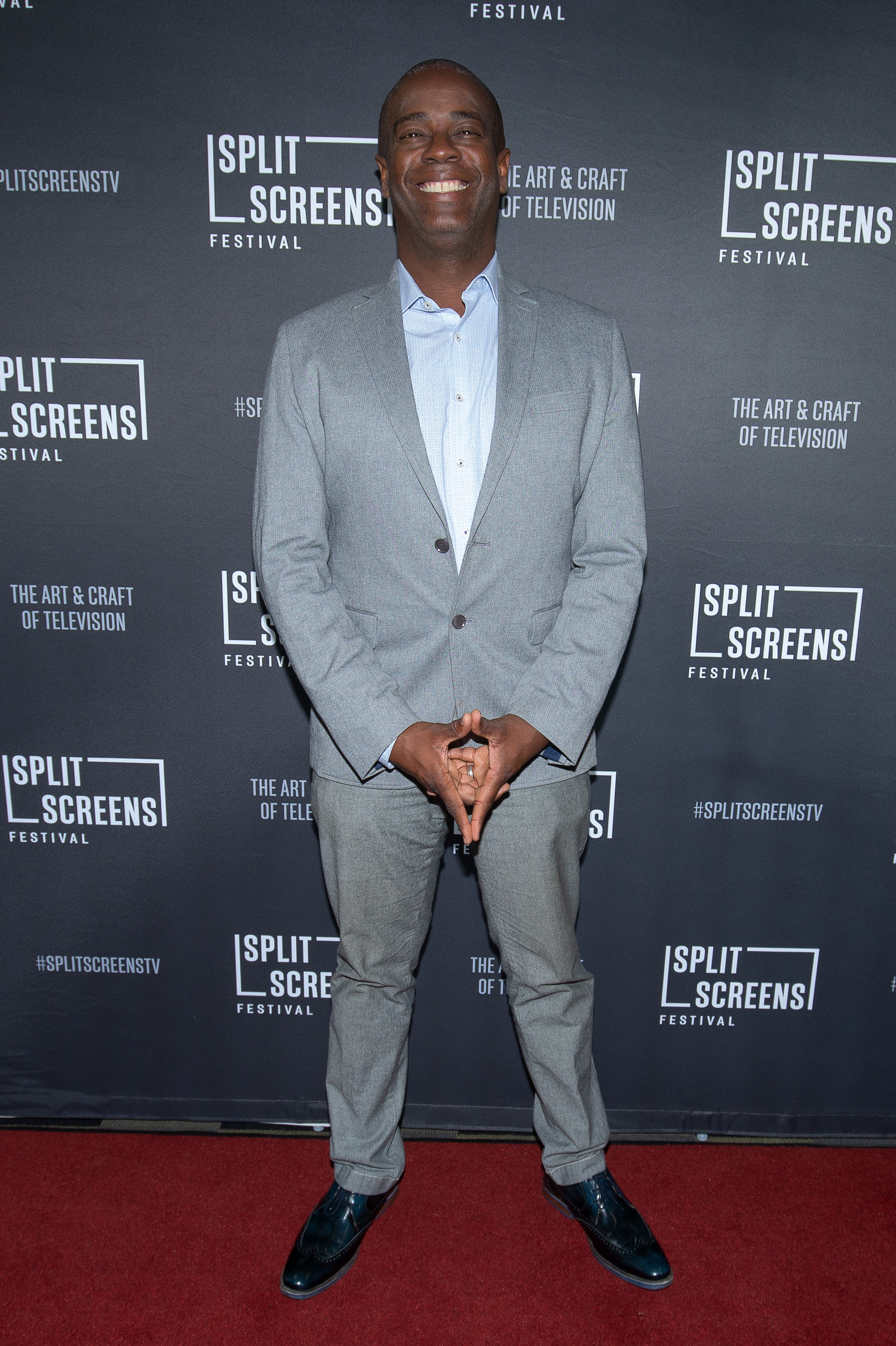 Anthony Sparks at IFC Center's third annual Split Screens Festival in New York. Photo Credit IFC Center/ Lou Aguilar