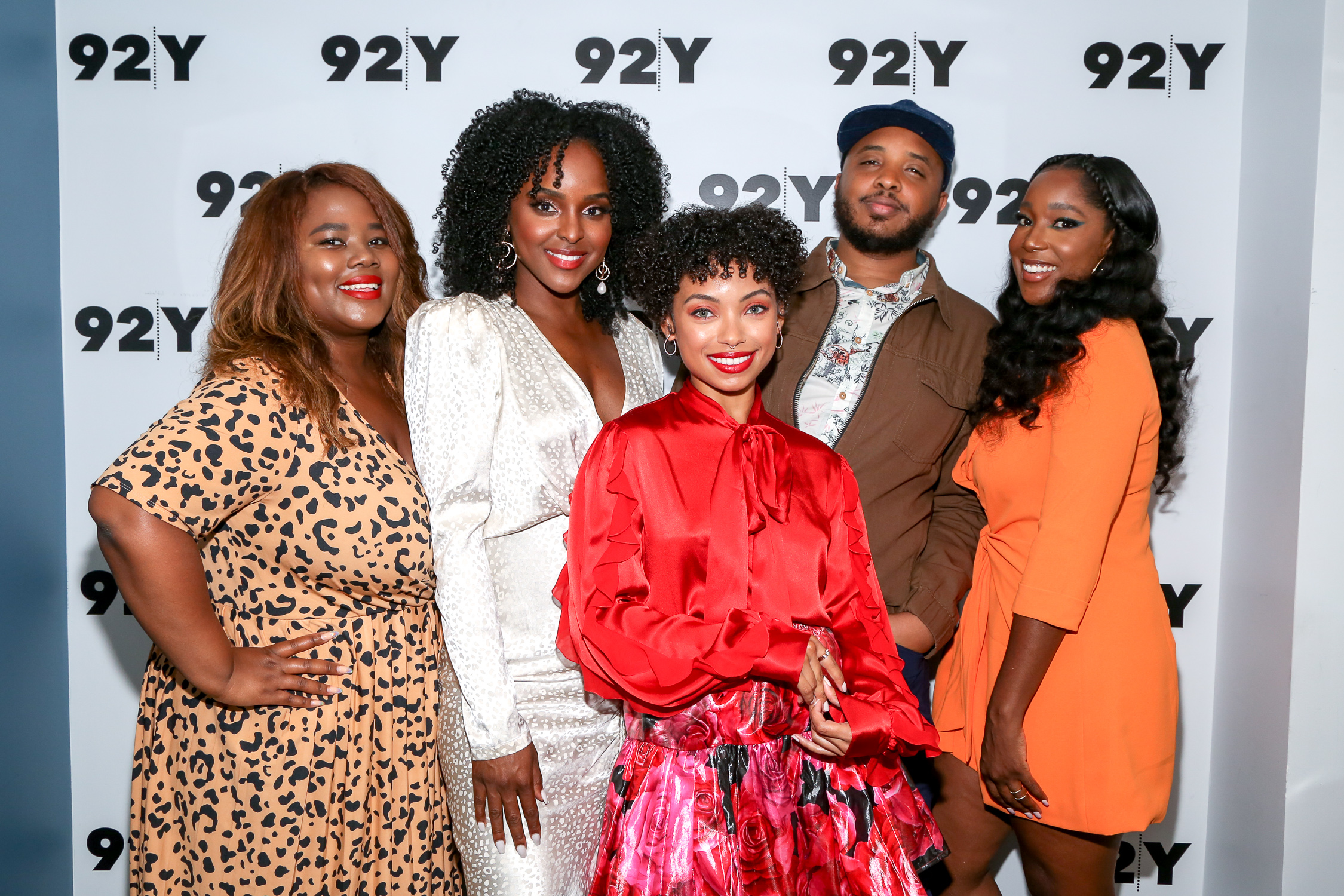 Sylvia Obell, Antoinette Roberston, Logan Browning, Justin Simien, Ashley Blaine Featherson  Photo Credit: Rod Morata/Michael Priest Photography