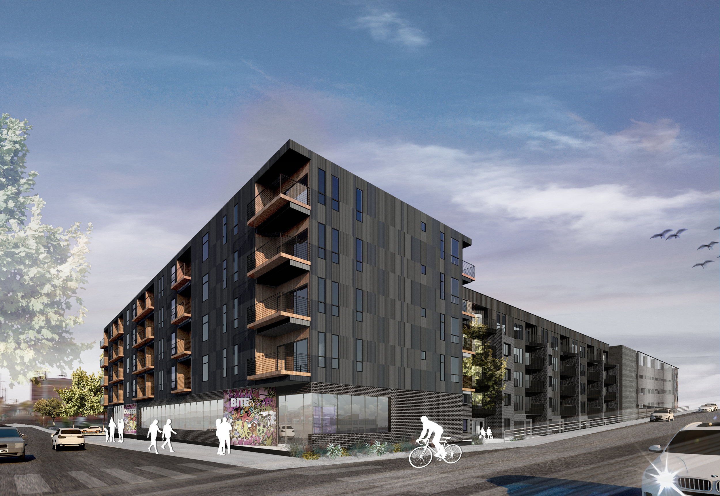 19th & Oak Mixed-use Development
