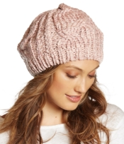 Collection XIIX Cable Knit Beret