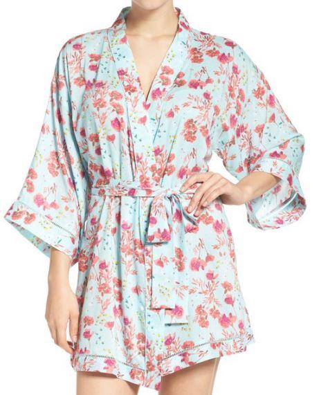 Kimono-Sleeve Robe