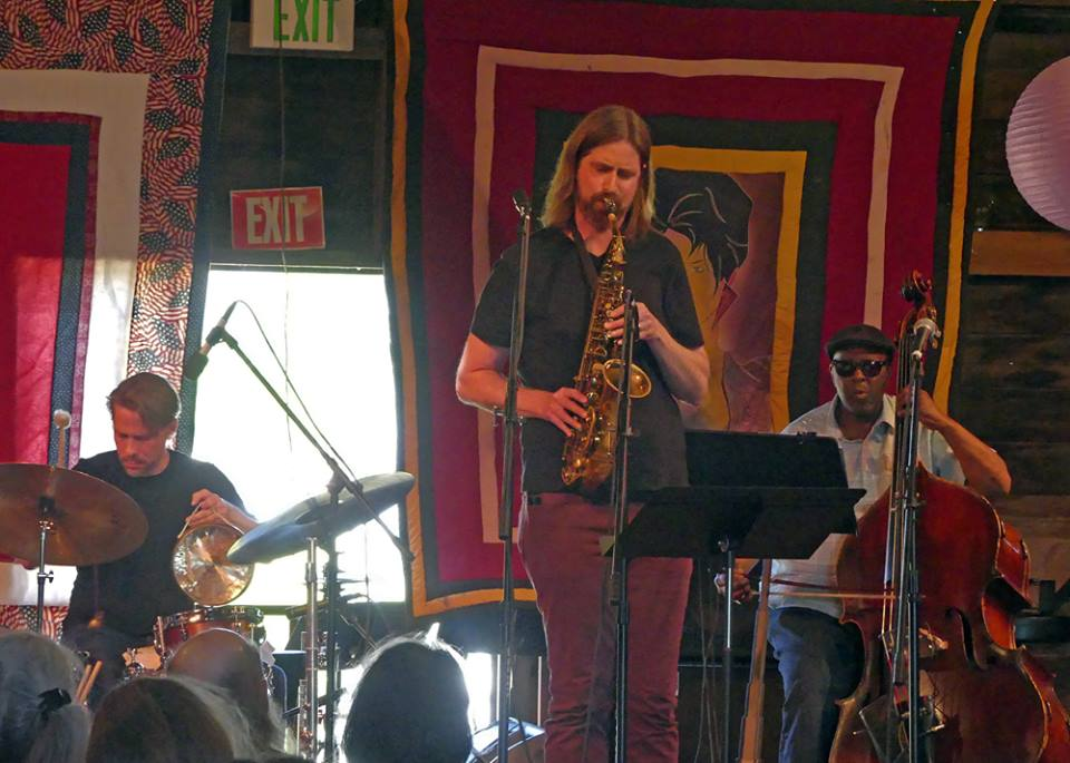 Savage/St. James/DuRoche at the Penofin Jazz Festival, Ukiah, CA