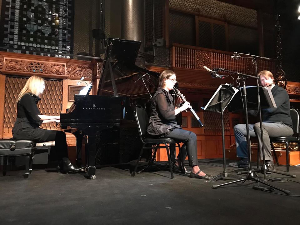 Re:Soundings Trio at the Park Ave. Armory, New York, NY