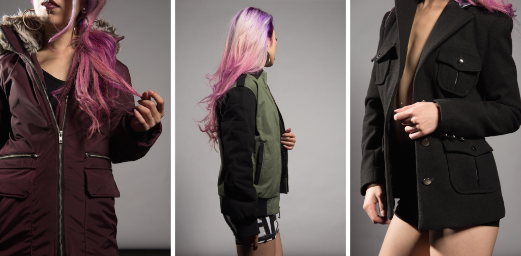 Aikas Love Closet Mermaid Hair_Angelina Frusho Burgundy Winter Coat6-tile.JPG