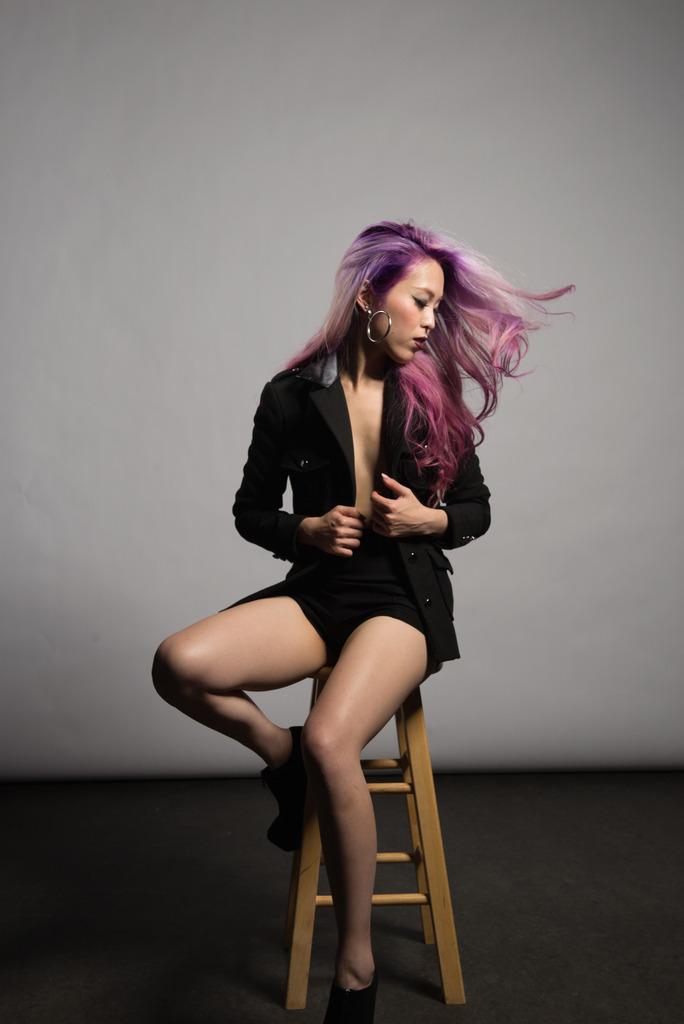 Aikas Love Closet Mermaid Hair_Angelina Frusho Tailored Blazer6.JPG