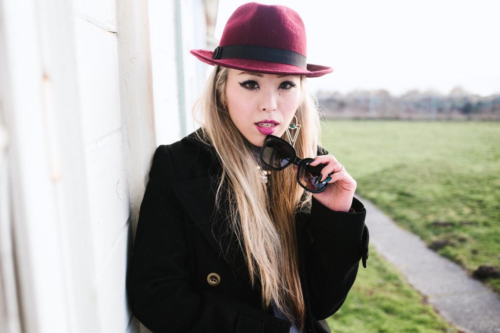 Forever 21 Hat_Celine Sunglasses.JPG