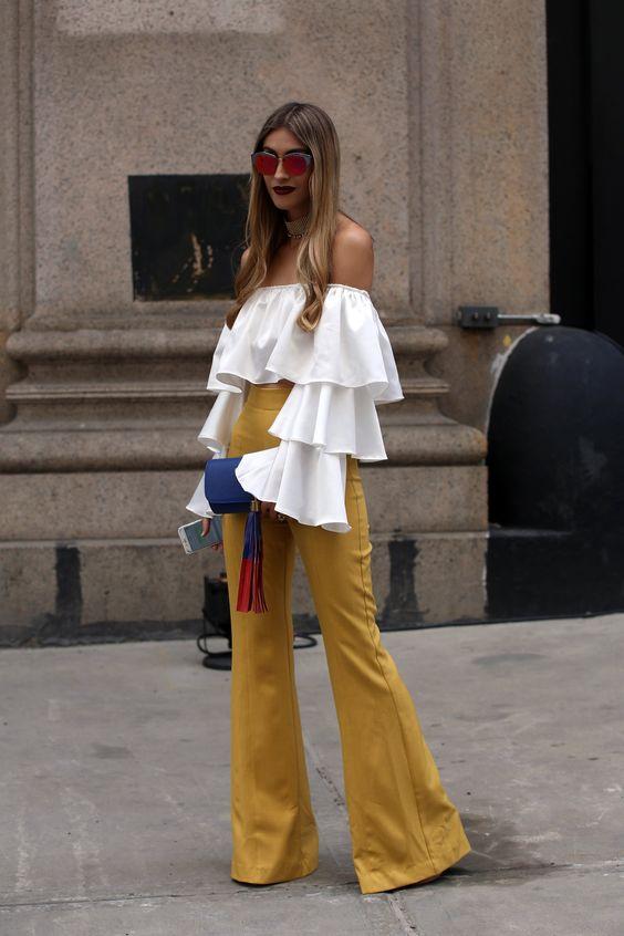 Yellow Flare trousers-street style inspirtion-aikas love closet-seattle style blogger-japanese.jpg