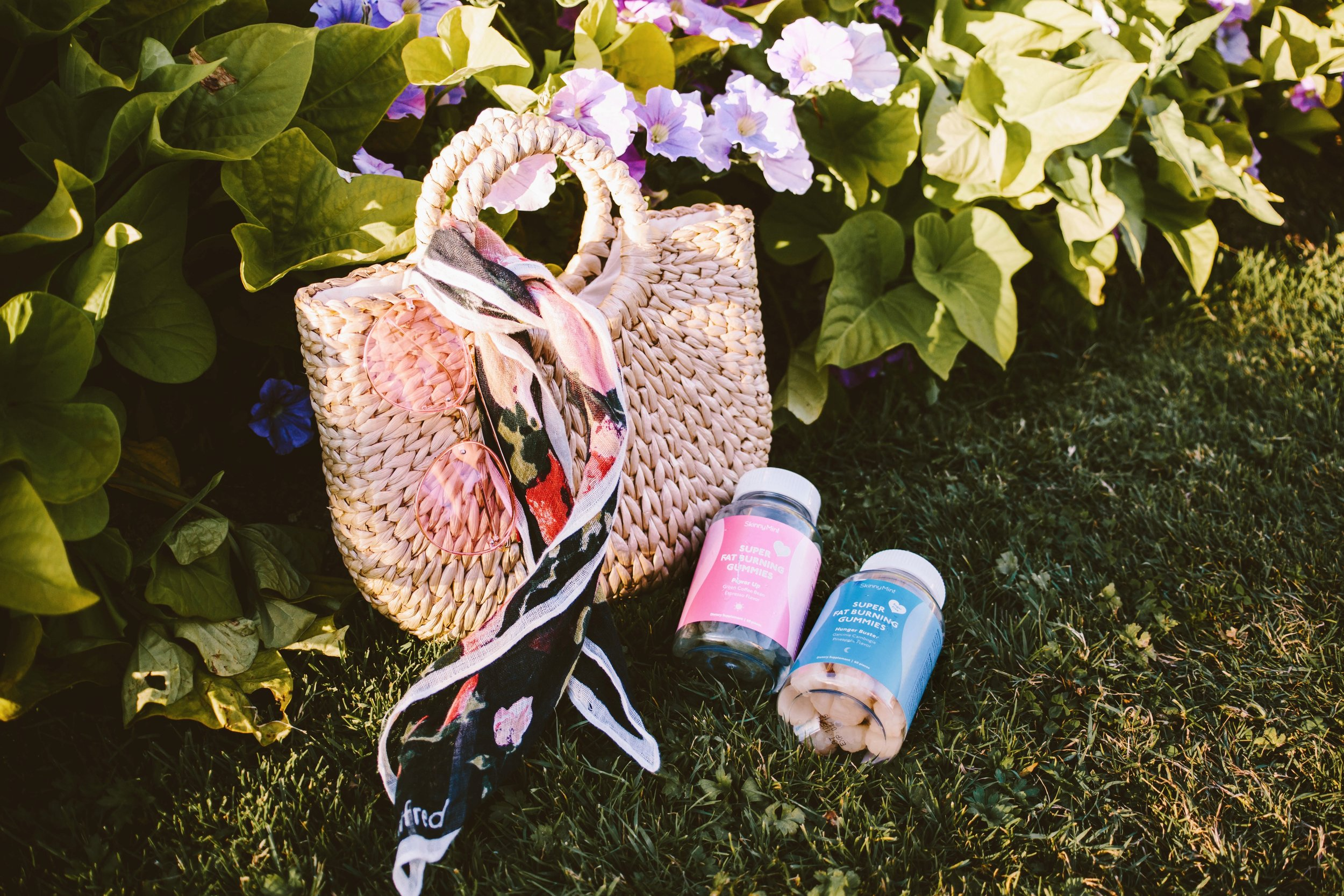 SkinnyMint Super Fat Burning Gummies_Purple Hair_Lifestyle_healthy-ootd-pony tail-summer-happy-supliment-fut burning-weight loss-style blogger-seattle fashion blogger-japanese-colored hair 9