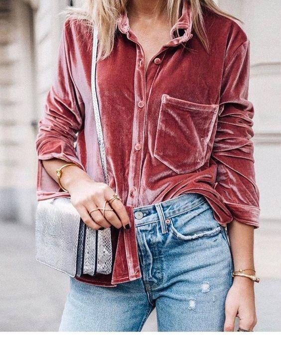 Top Velvet Fashion Trends for winter- aika's Love closet-japanese-seattle style fashion blogger-colored hair- pink velvet shirt.jpg