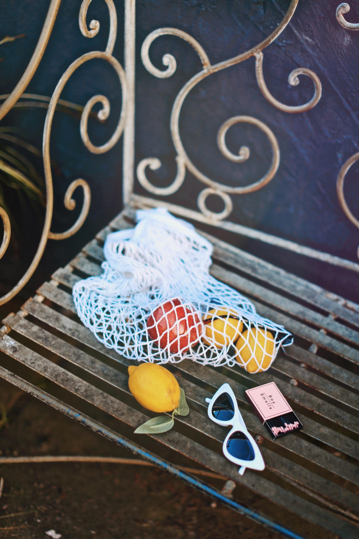 Uniqlo yellow Linen gingham shirt-Uniqlo olive paperbag shorts-Uniqlo Airism bratop-White Cat eye sunglasses ZERO UV- Pipe + Row White net bag-Vintage scarf bun hairstyle-ALDO Embroidered Nude mules-Aika's Love Closet-seattle fashion style blogger-Japanese-pink hair-smiling-spring fashion 12