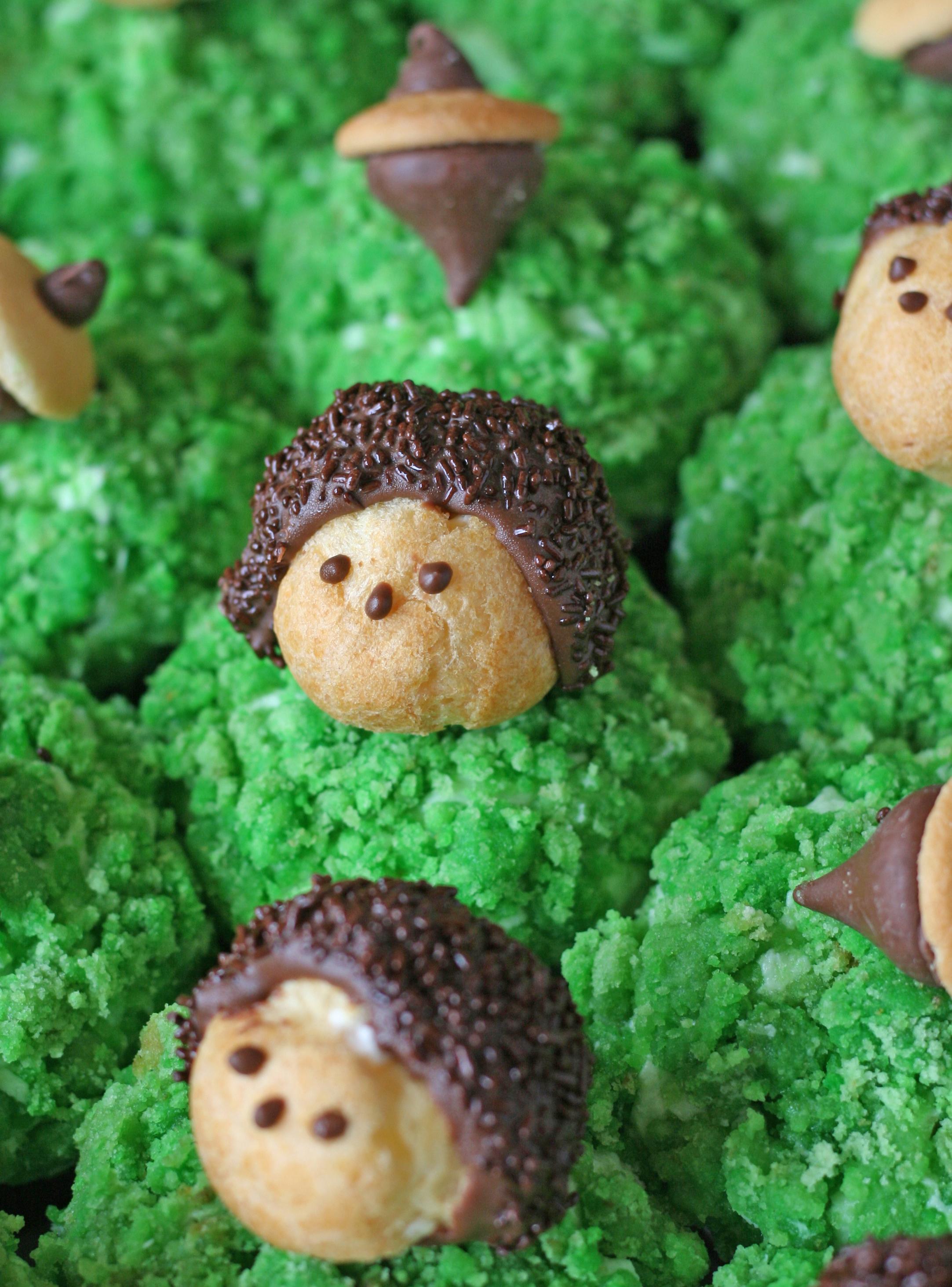 woodland cupcakes | sarah makes stuff