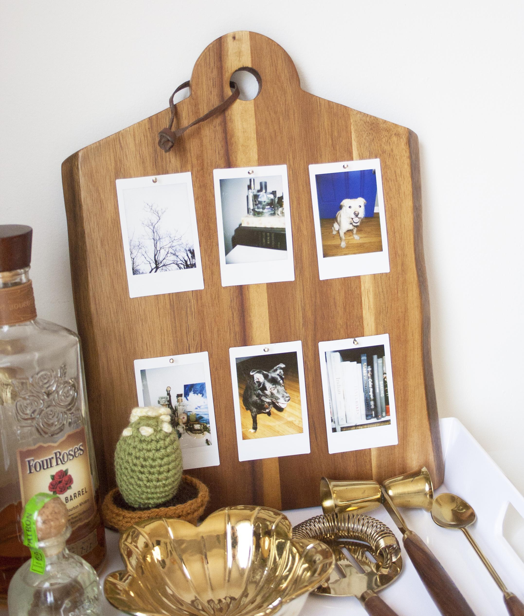 DIY Instax Photo Display | Sarah Makes Stuff