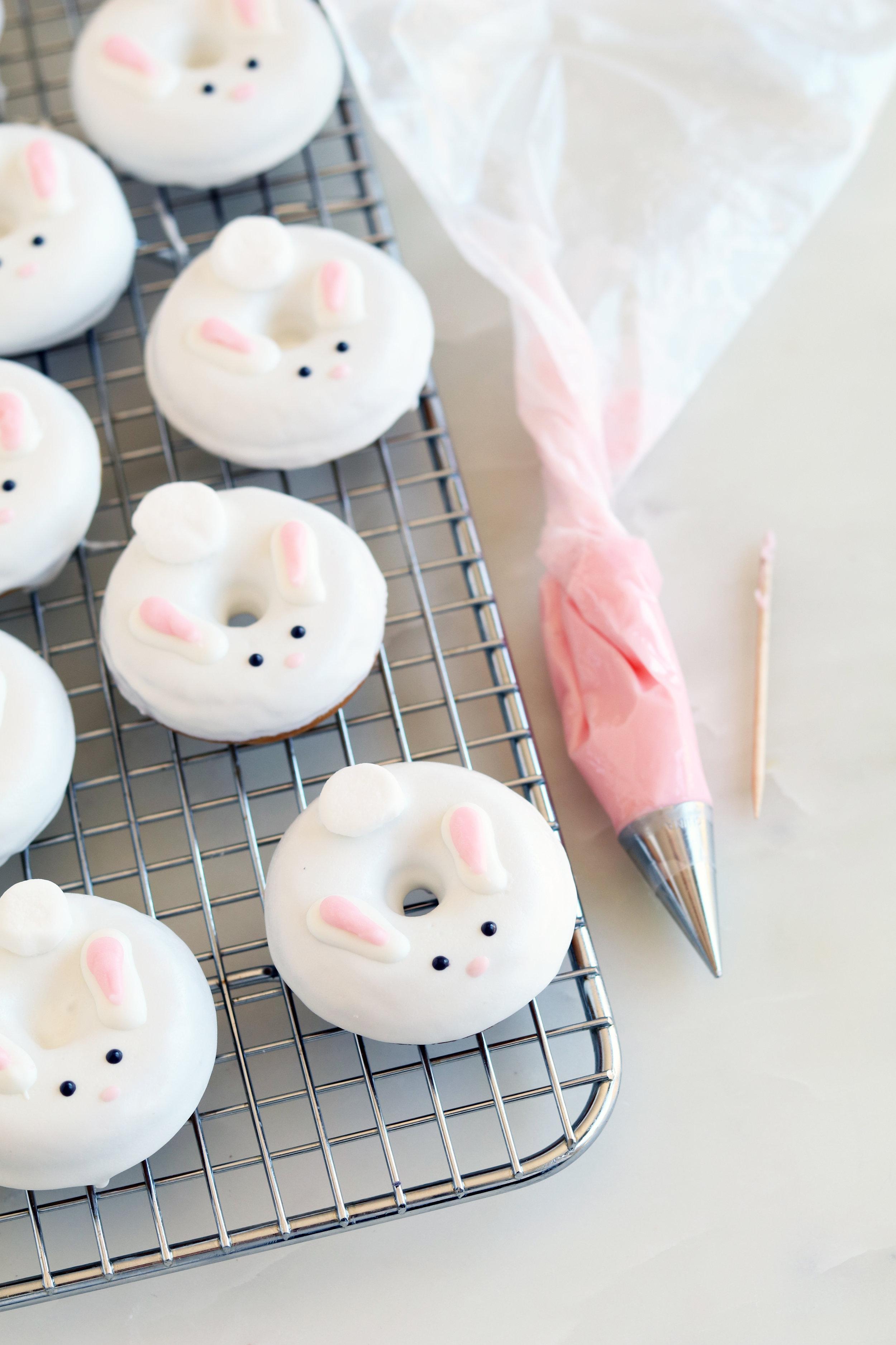 Bunny Donuts | Sarah Makes Stuff