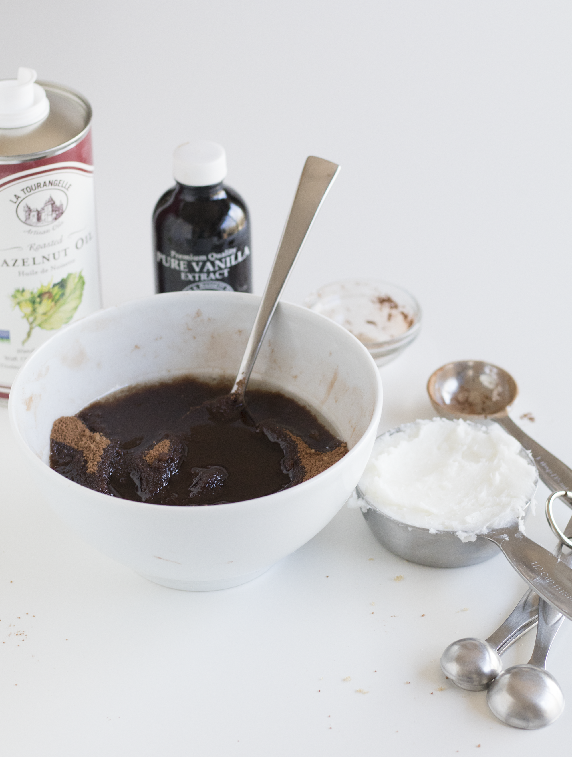 Cocoa Hazelnut Body Scrub | Sarah Makes Stuff