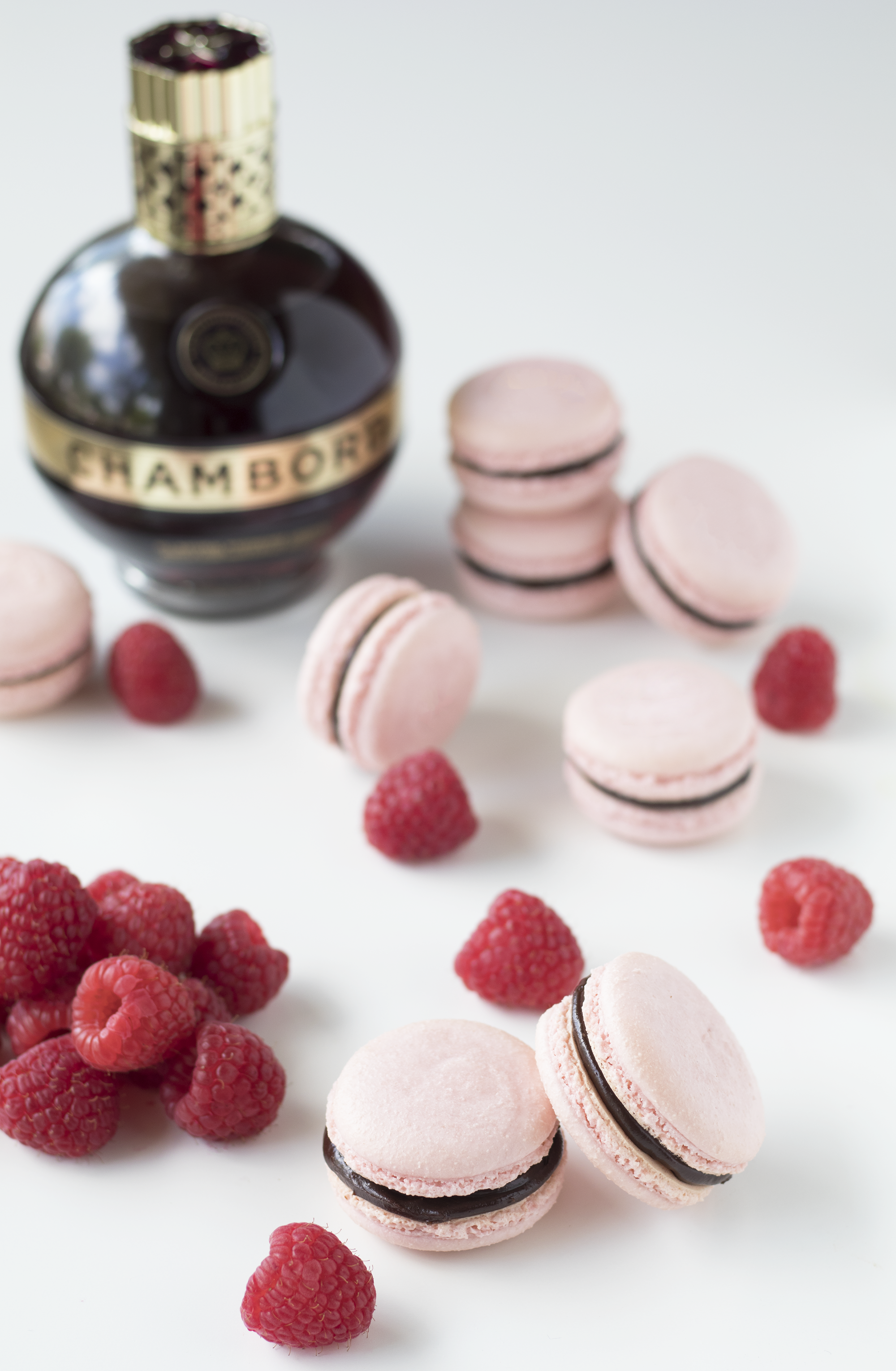Chambord Macarons | Sarah Makes Stuff