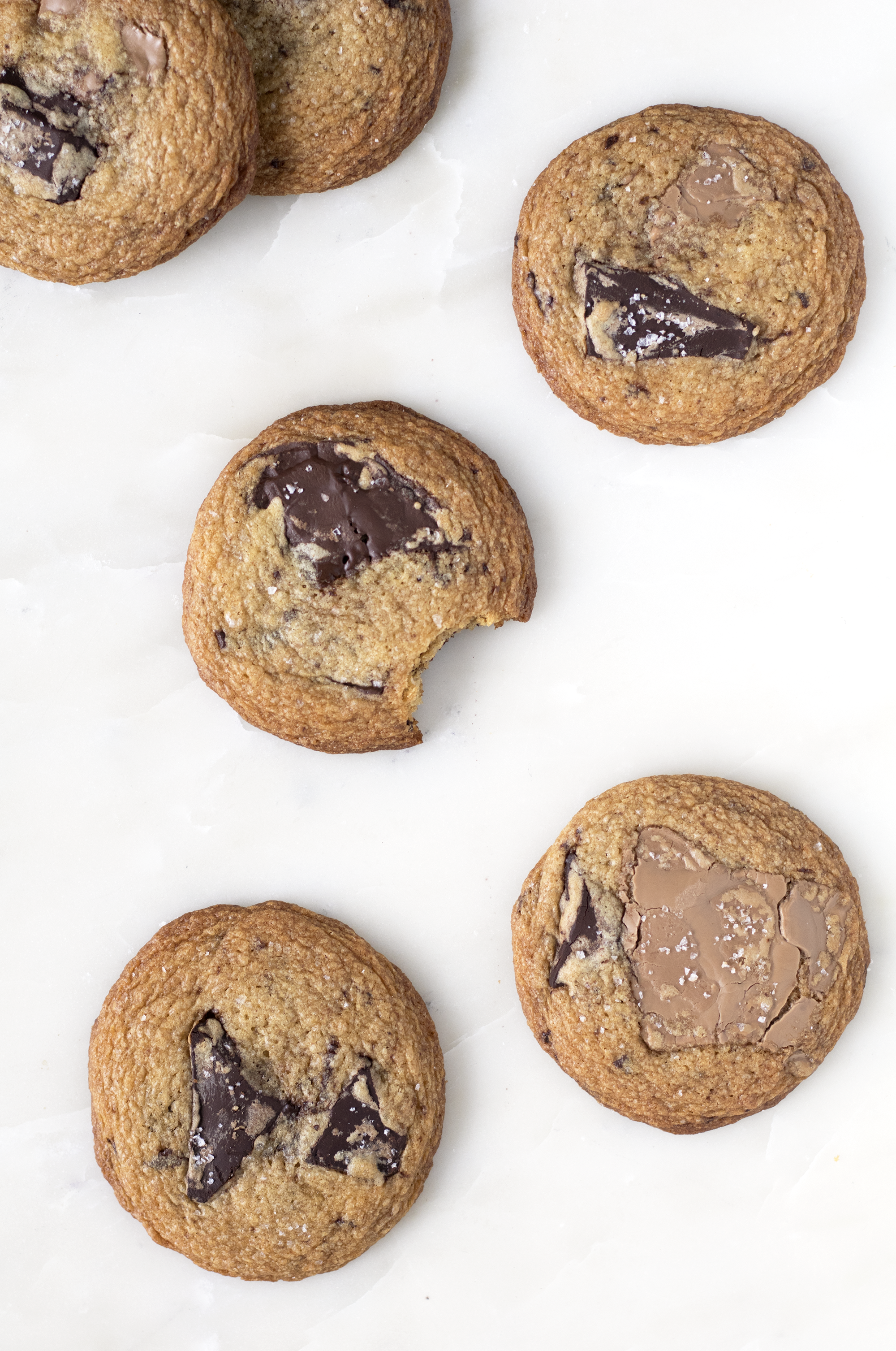 Brown Butter Chewy Chocolate Chunk Cookies | Sarah Makes Stuff