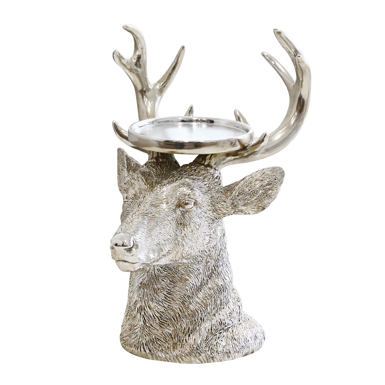 Reindeer Pillar Candle Holder
