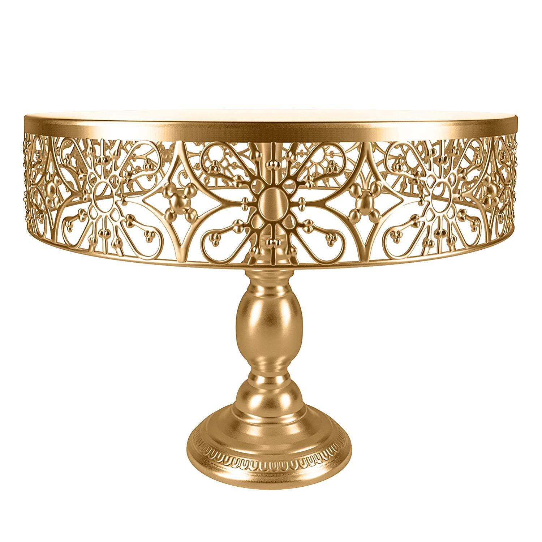 Vivian Bridal Gold Cake Stand